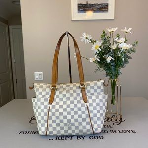 Louis Vuitton Damier Totally PM Shoulder Bag